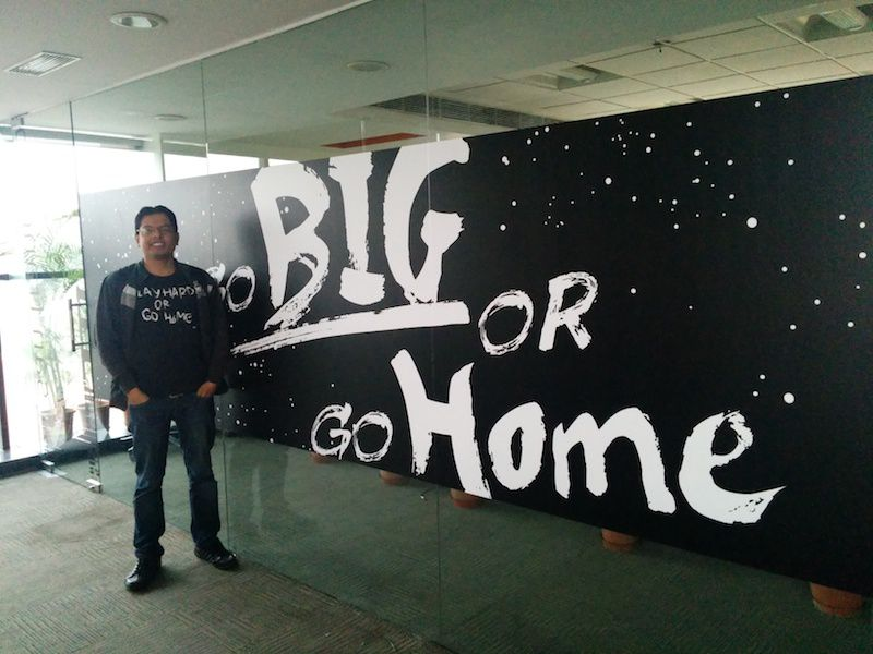 Go Big or Go Home!