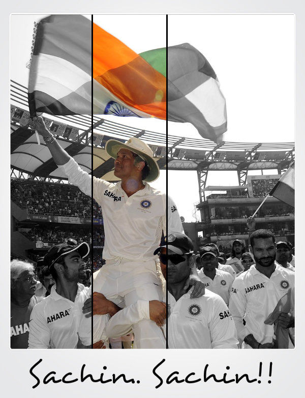 Thank You Sachin!